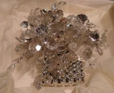 crystal wrist corsage | Crystal wrist Corsage