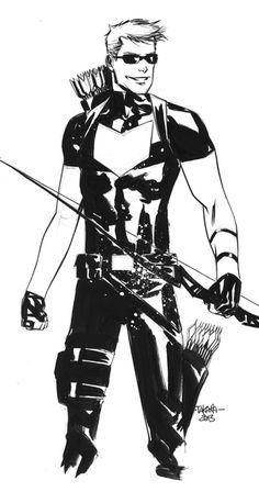 NYCC2013 sketch - Hawkeye by marciotakara