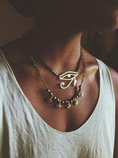 Eye of Horus Chunky Necklace