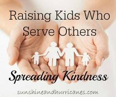 Spreading Kindness- Raising Kids Who Serve: Exciting way to celebrate a birthday & teach a lesson on kindness for kids of ALL ages! Find out what one family did to impact their community! sunshineandhurricanes.com