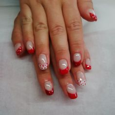 Cute Minnie Mouse inspired tips