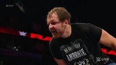 Dean Ambrose rescata a Seth Rollins del ataque del Miz RAW 10/Junio/17 Dick27Ambrose