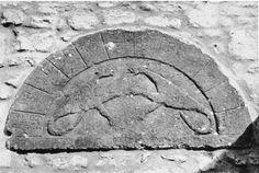 Plate 7: Twelfth-Century Carved Stones | British History Online Wynford Eagle Church