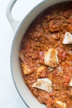 Marinara Quinoa with