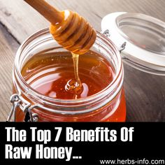 The Top 7 Benefits Of Raw Honey ►► http://www.herbs-info.com/blog/the-top-7-benefits-of-raw-honey/?i=p