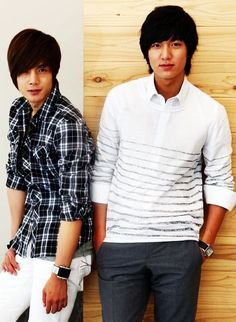 Team Jihoo or Team Joon Pyo?  Kim Hyun Joong & Lee Min Ho