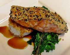 Salmon with Mirin Sauce - Coho Restaurant