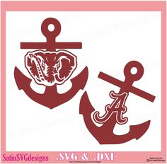 Shop for svg on Etsy, the place to express your creativity through the buying and selling of handmade and vintage goods. Silhouette Cameo Projects, Silhouette Design, Silhouette Studio, Vinyl Crafts, Vinyl Projects, Cricut Vinyl, Vinyl Decals, Alabama Crimson Tide Logo, Vinyl Monogram