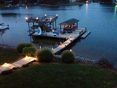 Smith Mountain Lake...looks so serene
