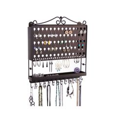 Hey, I found this really awesome Etsy listing at https://www.etsy.com/listing/202450558/wall-mount-jewelry-organizer-earring