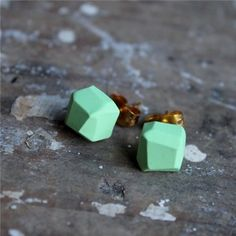 polymer clay earrings - love these  I think these are very interesting and something an adult would ACTUALLY wear