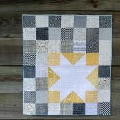 Star Bright Free Quilt Pattern Craftsy.com its a baby quilt but would be a cute wall hanging; I'd use different colors