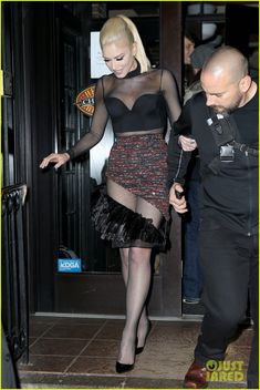 Gwen Stefani Goes Sheer for 'Saturday Night Live' After-Party