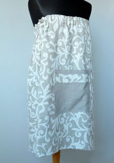 linen would be cool but would have to find washable linen fabric