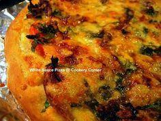 Garlic White Sauce Pizza