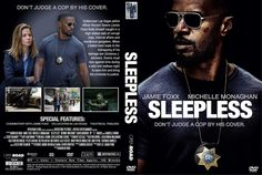 Sleepless (2017) DVD Custom Cover