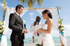 Cérémoinie laïque en Guadeloupe : Carine & Mohammed Ali | My Cultural Wedding Chic