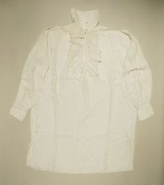 Object Name  Shirt  Date  18th century