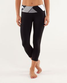 @lululemon athletica  As a pianist, Mozart was a wunderkind. If he was a pair of crops, he'd be these.