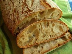 I made some of this bread today it is wonderful with just a good quality olive oil brushed on. Plan to use it as a sauce sop up for pasta tomorrow.