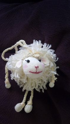 baby girl yarn sheep