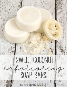 Coconut Exfoliating Soap Bars