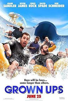 Grown ups One funny movie