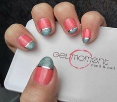 In love with these nails! GelMoment gel polish is awesome! Gel Nails At Home, Gel Nail Art, Nail Art Diy, Gel Nail Polish, Nail Polish Designs, Nail Art Designs, Nail Art Videos, Jamberry Nails, Simple Nails