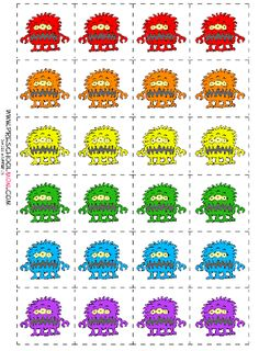 Our monster printables help children learn their alphabet, numbers, and sizes. Monster Books for Preschoolers: Preschool Books, Preschool Themes, Preschool Printables, Classroom Themes, Monster Book Of Monsters, Green Monsters, Elementary Spanish, Elementary Schools, Big Green Monster
