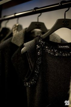 chanel: hopefully one day my closet will be filled with this