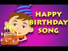 It's Your Happy Birthday - Nursery Rhyme with Karaoke - YouTube