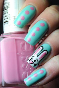 easter bunny Eeeek Nail Polish #nail #nails #nailart