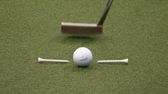 Putting - Two-tee Drill
