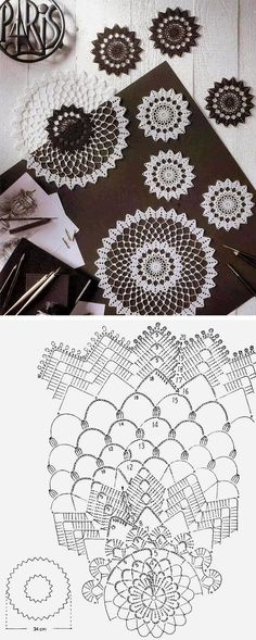 Free Crochet Doily Patterns Crochet Doily 20 Free Pattern 20 Free Crochet Doily Patterns Free Vintage Crochet Pattern Beautiful Star Of Hope Doily Vintage. Filet Crochet, Mandala Au Crochet, Crochet Circles, Crochet Doily Patterns, Crochet Chart, Thread Crochet, Crochet Designs, Crochet Doilies, Crochet Stitches