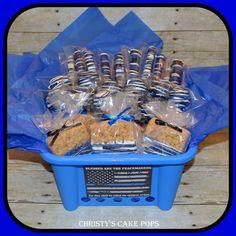 Snack Basket for Police Week ME Police officer gifts