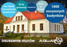 Młodzieżowy Dom Kultury w Puławach, bezpieczny i suchy dzięki AQUAPOL Dom, Mansions, House Styles, Home Decor, Nature, Homes, Decoration Home, Manor Houses, Room Decor