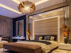"""35 Lovely Luxury Bedroom Design Ideas For Beautiful Home - Who would not want a luxury bedroom? It is good to be queen """"or king"""" every now and then so why not turn that """"just a bedroom"""" into a special retreat . Bedroom Design Trends, Modern Bedroom, Bedroom Furniture Design, Bedroom Design, Master Bedroom Interior, Modern Bedroom Interior, Master Bedrooms Decor, Bed Interior, Luxury Bedroom Master"""