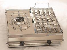 Vendita online | Mod. F2 Barbecue in acciaio inox Combinata GA Srl - Barbecue - Articoli per la casa - Prodotti Italiani