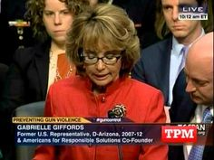 Gabby Giffords Says More In Her Struggle With 13 Sentences Than Most People Do In A Lifetime:   Gabby Giffords' life was forever changed by a gun. So she just walked into Congress to do something about it.