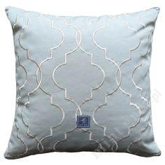 MINT GREY New York Style Interiors | produkty - dodatki; Poduszka QUATREFOIL MINT; Poduszki MINT GREY; Pillows; Cushions
