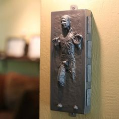 Han Solo: Frozen in carbonite, while switched on...
