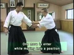 Aikido techniques basic aikido 1 part - YouTube