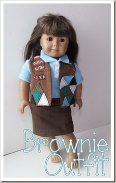 American Girl Brownie Outfit