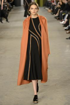 Boss Fall 2016 Ready-to-Wear Fashion Show - Caitie Green