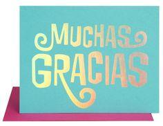 Muchas Gracias Cards Boxed Set