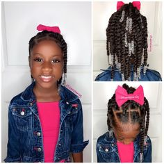 Choosing styles that are cute and fun can help your little girl learn to love her natural hair. Here are 35 cute natural hairstyles for little Black girls. Lil Girl Hairstyles, Natural Hairstyles For Kids, Kids Braided Hairstyles, My Hairstyle, Fancy Hairstyles, Girl Haircuts, Hairstyle Ideas, Hair Ideas, Little Girl Braids