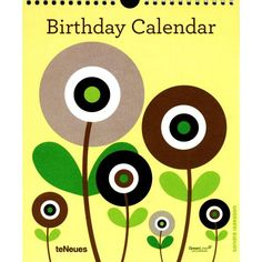 Sandra Isaksson Perpetual Wall Calendar | Women's Organizer | CALENDARS.COM - $12.99 You will never forget birthdays using this GreenLine calendar with Sandra Isaksson's images.