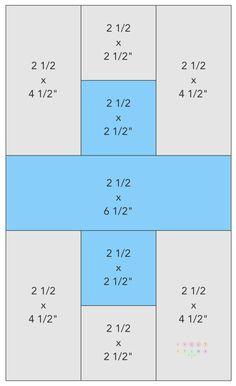 Large plus blocks… | kviltstina