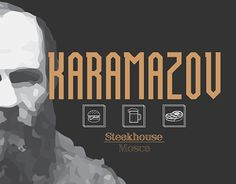 "Check out new work on my @Behance portfolio: ""Karamazov - Steak House"" http://on.be.net/1Nh9MDn"