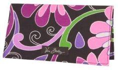 Vera Bradley Checkbook Cover in Purple Punch Vera Bradley. $24.99